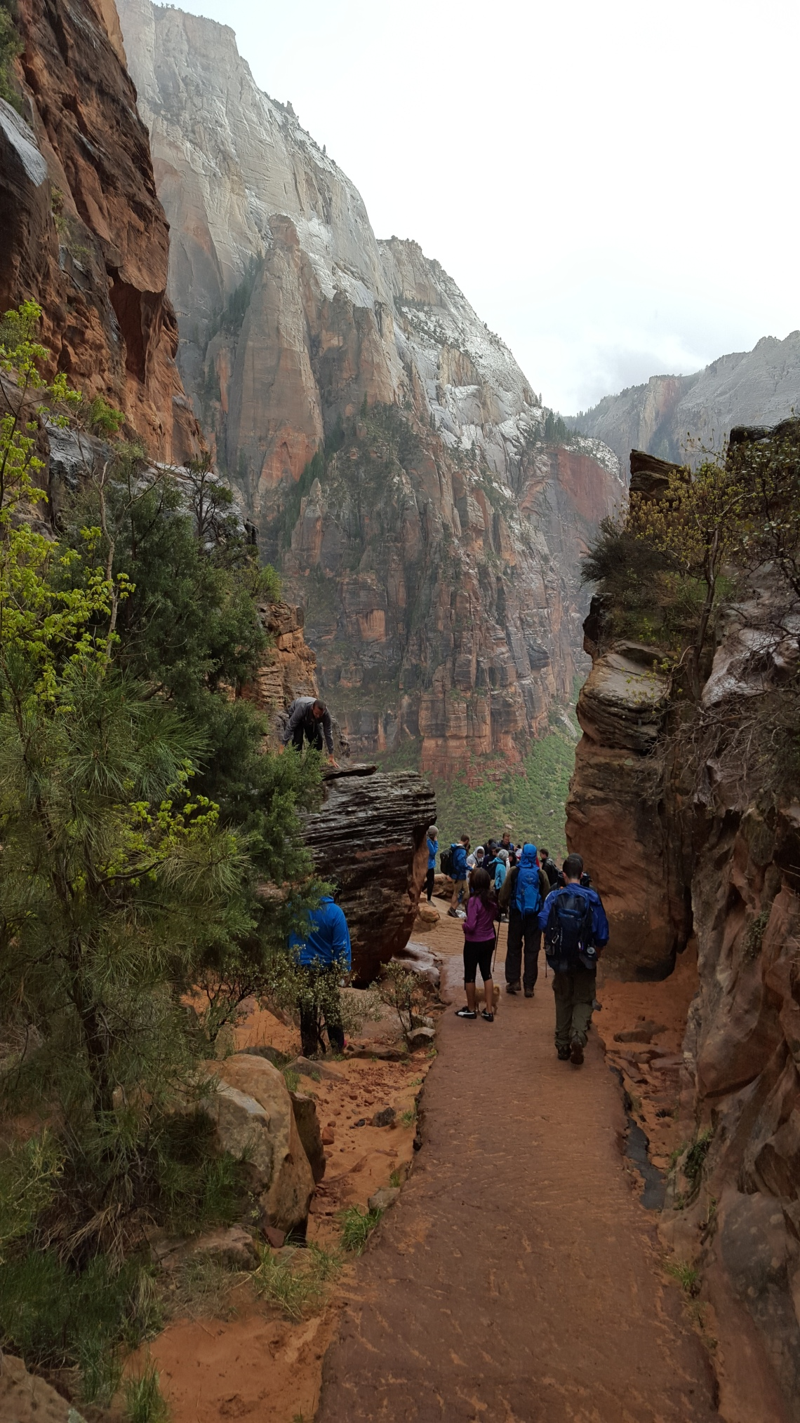 Angels Landing Trail Zion National Park 22.03.1620160322_144826