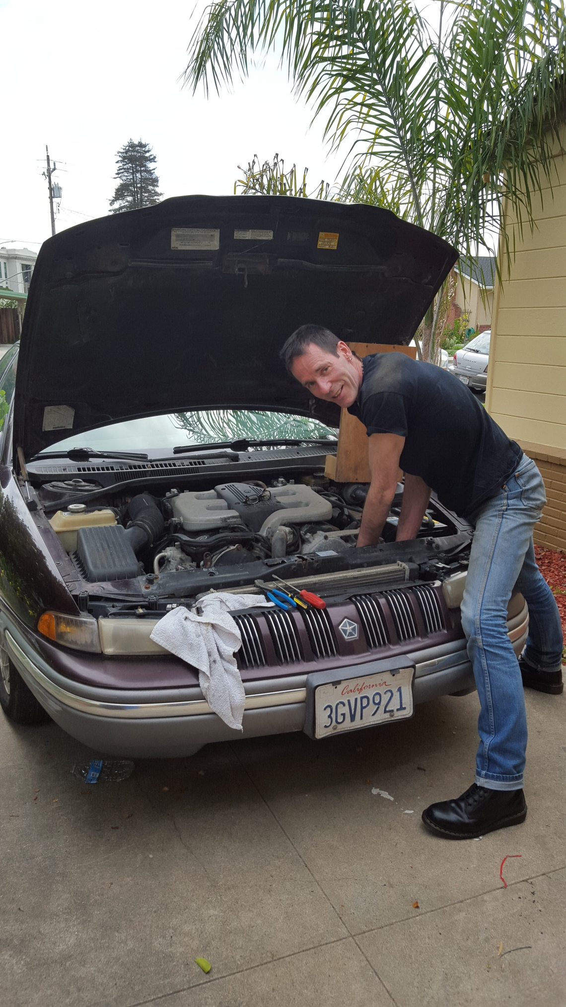 Fixing up Chrysler Hummingbord Santa Cruz 08.03.16