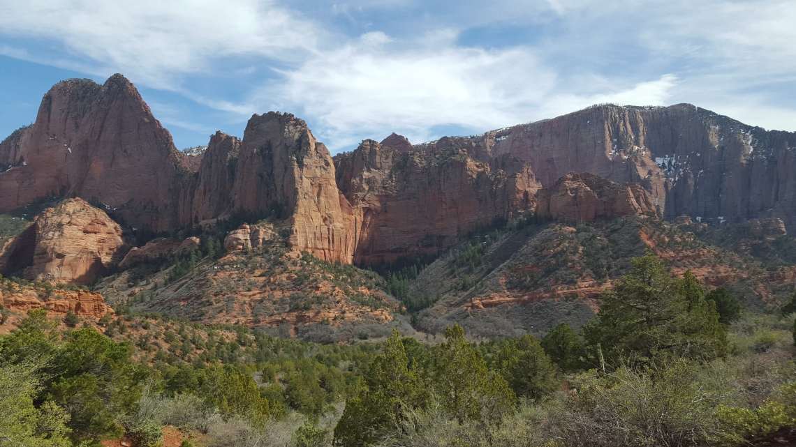 Zion National Park Kolob Canyon Trail 20.03.1620160320_150841