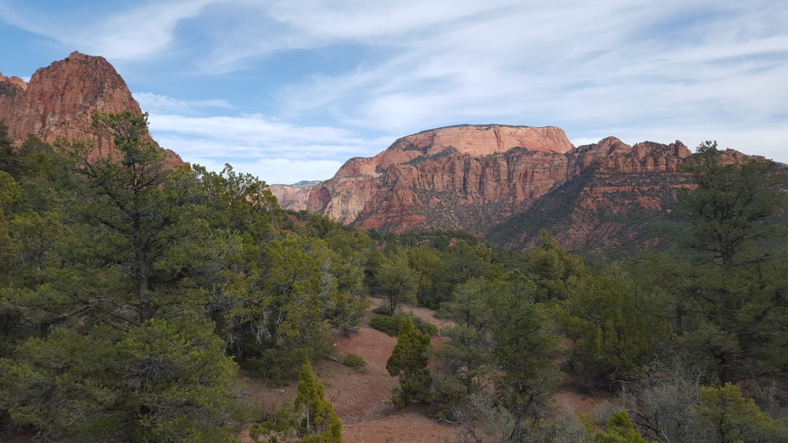 Zion National Park Kolob Canyon Trail 20.03.1620160320_161829