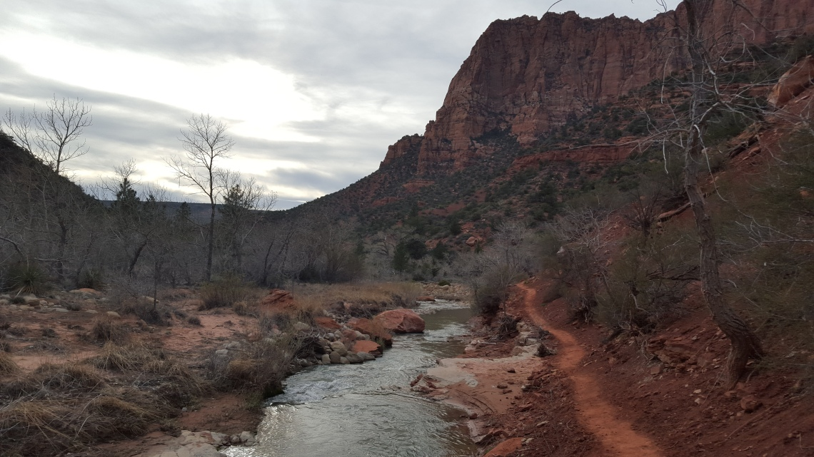 Zion National Park Kolob Canyon Trail 20.03.1620160320_182233