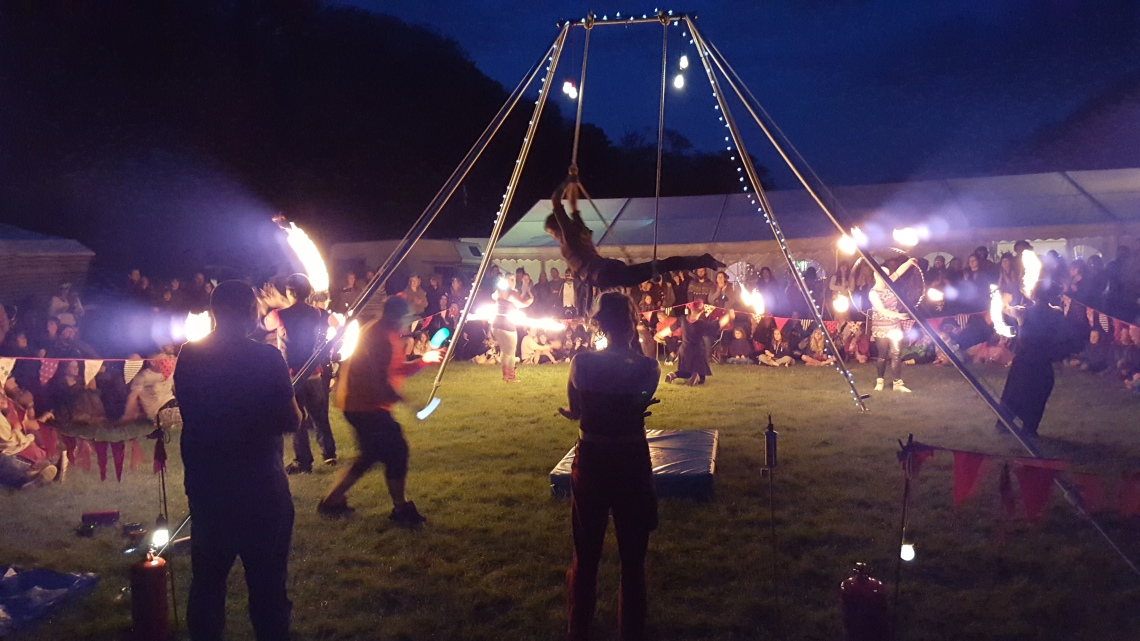 Fire Eaters & Clowns Magic faery festival Alfriston 22.05.1620160521_214203