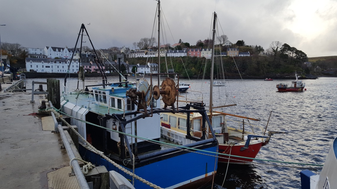 Portree Isle of skye Scotland November 201720171128_130324