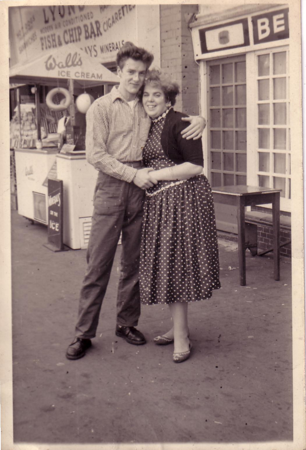 13) Mum & Dad, Brighton, 1957