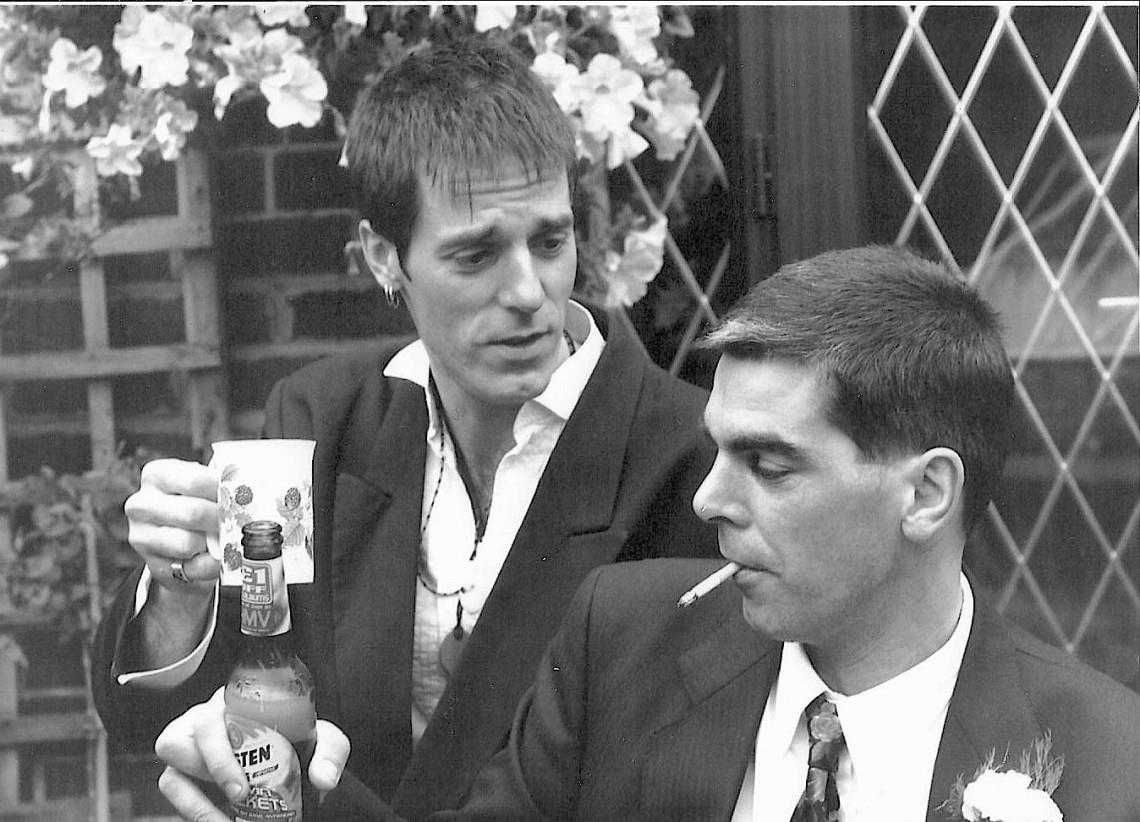 85) Wedding day 08.07.1989