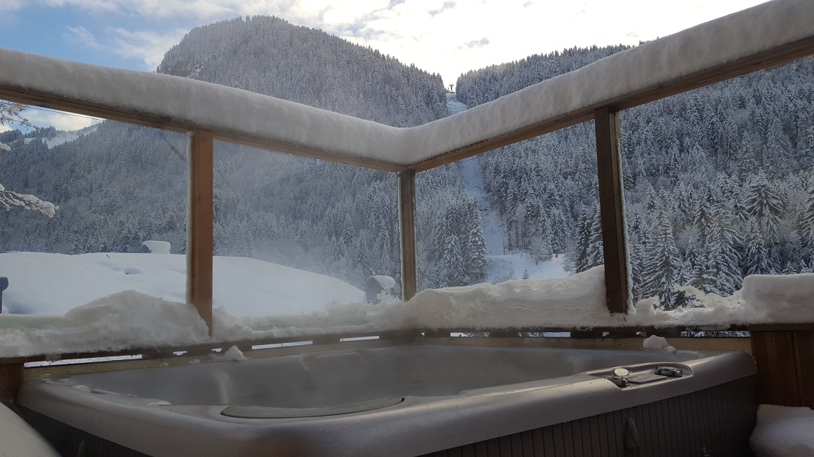 View from the Chalet Morzine 17.12.1820171217_152217